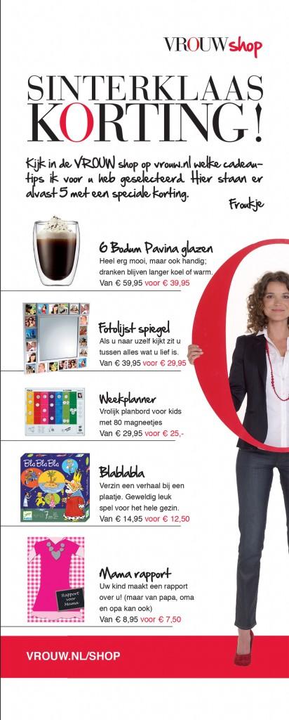 Vrouw Shoppen Met Froukje Rademakkers